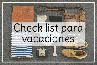 CHECK LIST VACACIONES